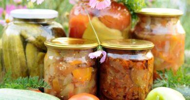 Рецепт маринованных кабачков с помидорами и морковью
