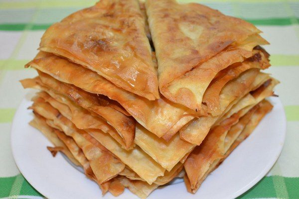 Ленивые мясные чебуреки из лаваша
