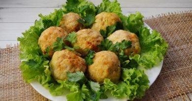 Зразы с зеленым луком и яйцом