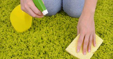 Как легко очистить ковер?