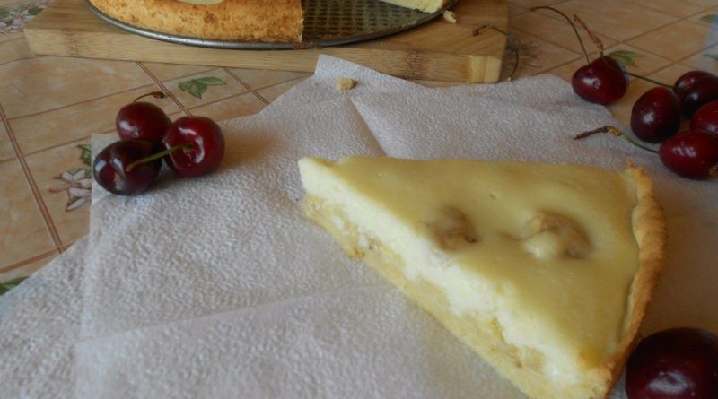 Очень вкусный пирог с бананами