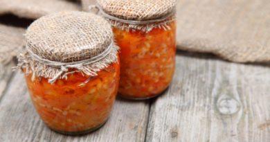 Рецепт салата из кабачков на зиму