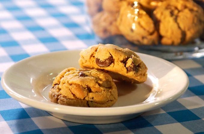 Арахисовое безмучное печенье