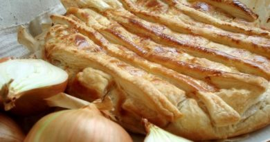 Домашний луковый пирог «Onion Pie»