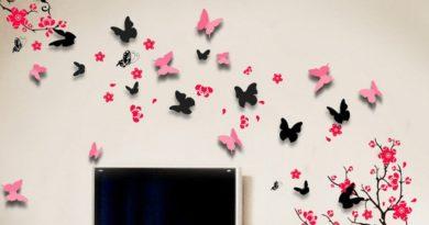 8 самых интересных идей для оформления пустой стены.