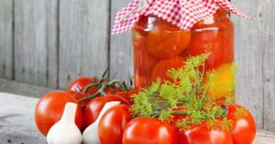 Как замариновать помидоры с горчицей