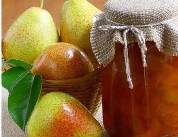 Царское грушевое варенье с лимоном