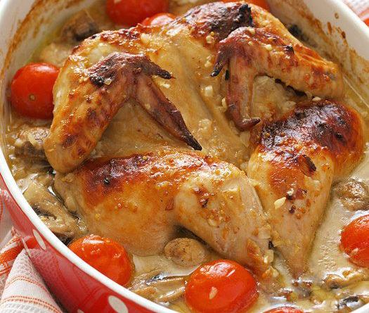 Курица маринованная в пивес горчицей