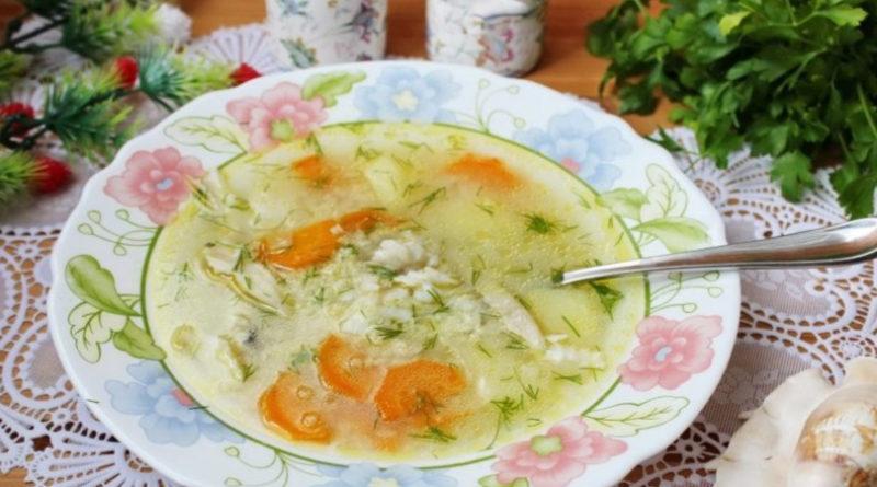 Суп из камбалы