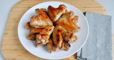 Простой маринад для курицы из меда и горчицы