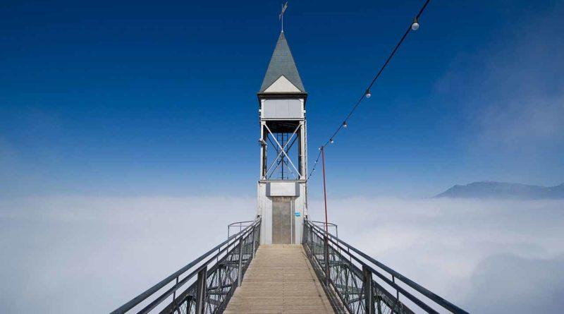 Где находится самый высокий открытый лифт Хамметшванд