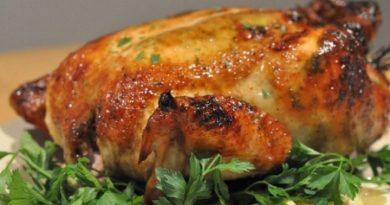 Самый сочный цыпленок в духовке