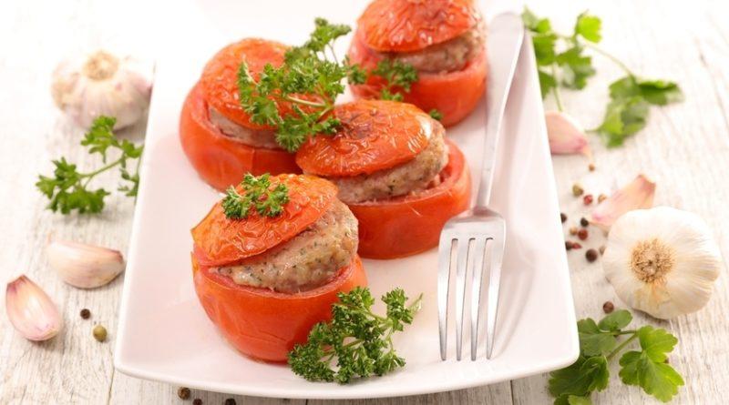 Фаршированные помидоры «Секрет с мясом»
