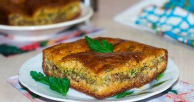 Пирог с мясом «Быстро и легче не бывает»