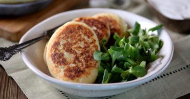 Картофельные зразы с шампиньонами