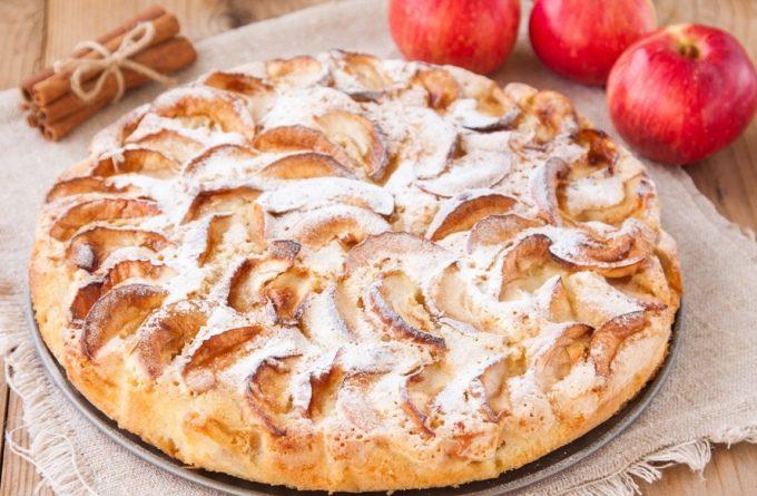 Оригинальный яблочный пирог