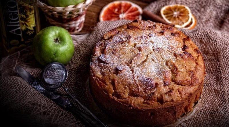 Болонский яблочный пирог