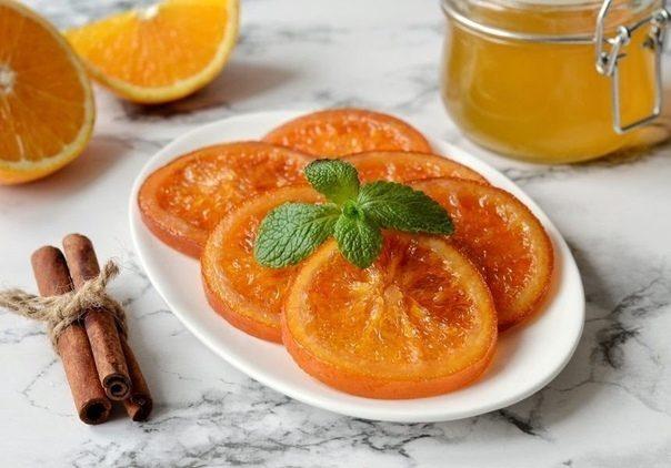 Готовим сладости — карамелизированные апельсины